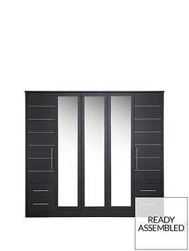 consort-liberty-5-door-4-drawer-mirrored-wardrobe
