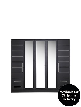 consort-new-liberty-5-door-4-drawer-mirrored-wardrobe