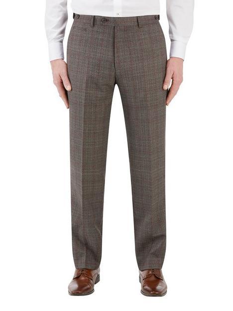 skopes-havlin-tailored-fit-overcheck-trouser-greyred