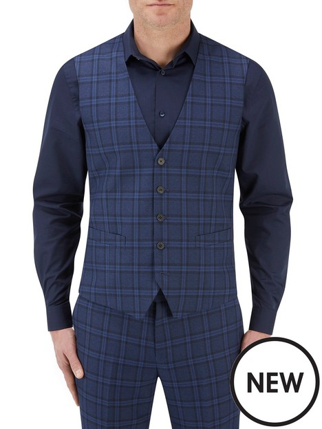 skopes-skopes-angus-5-button-bold-check-lyfcycle-waistcoat