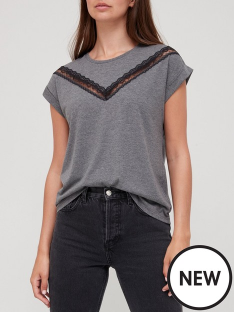 v-by-very-lace-trim-t-shirt-charcoal