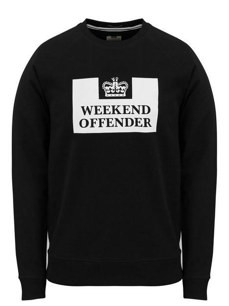 weekend-offender-logo-classic-sweat