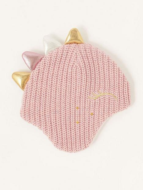 monsoon-girls-dina-sparkle-dino-pink-hat-pink