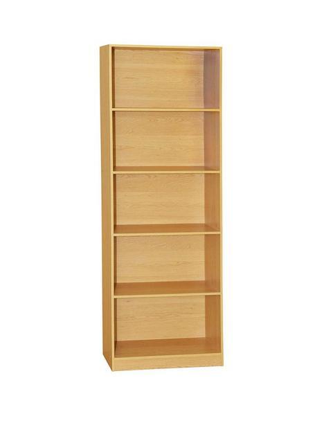 vida-designs-cambridge-5-tier-extra-large-bookcase