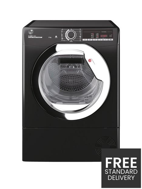 hoover-h-dry-300-hle-c9tceb-9kg-loadnbspcondenser-tumble-dryer-black