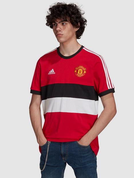 adidas-manchester-united-3-stripe-t-shirt-red