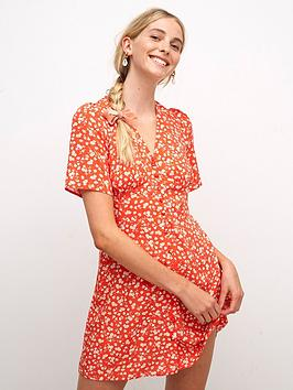 nobodys-child-alexa-mini-dress-red