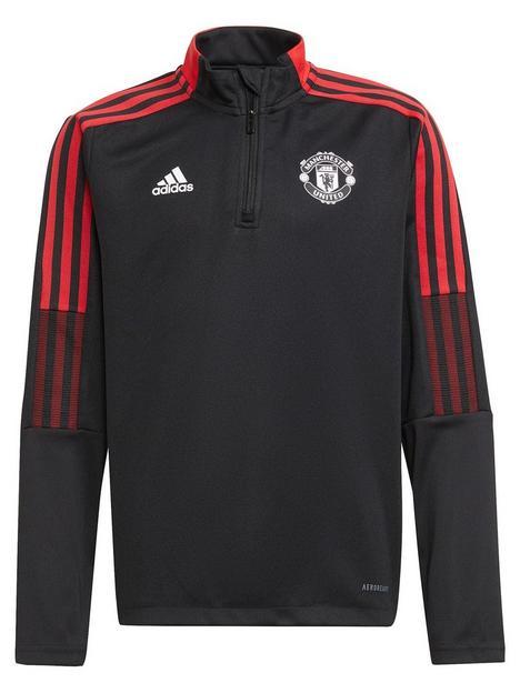 adidas-youth-manchester-unitednbsp2122-warm-up-top-black
