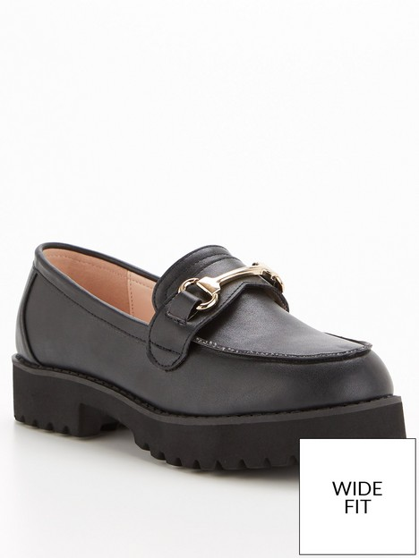 raid-chase-wide-fit-loafers-black