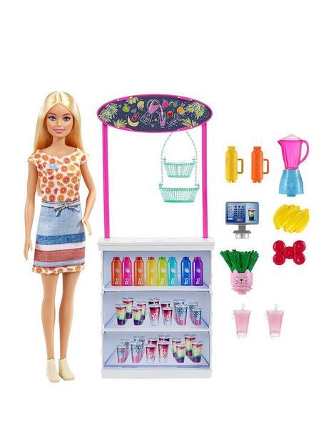 barbie-smoothie-bar-playset-with-blonde-barbie-doll