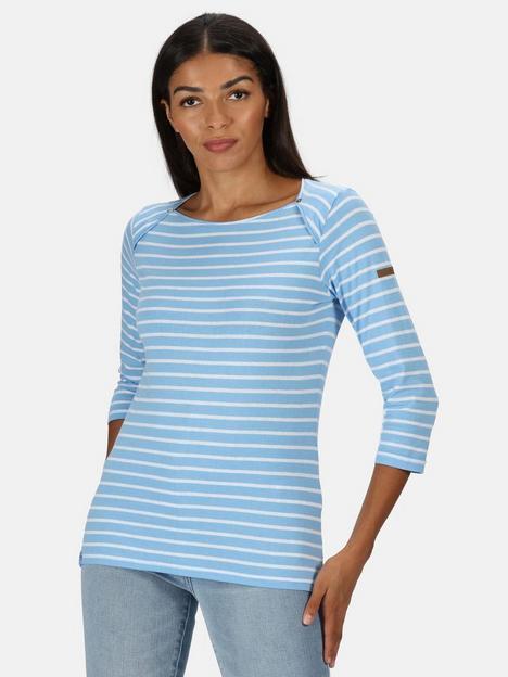 regatta-polina-long-sleeve-top-blue