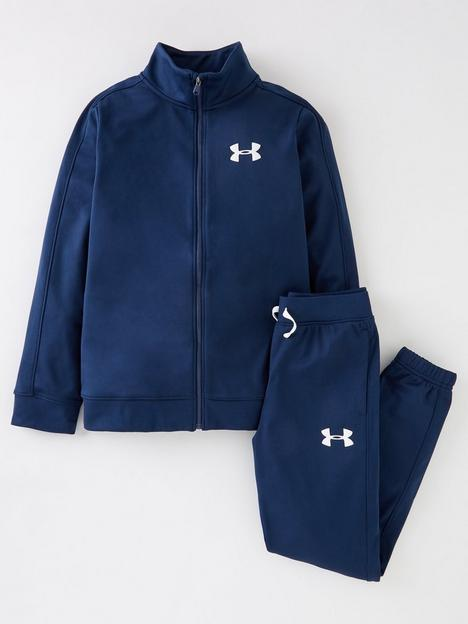 under-armour-childrens-knit-tracksuit-navy-white