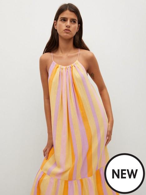 mango-niza-flared-maxi-dress