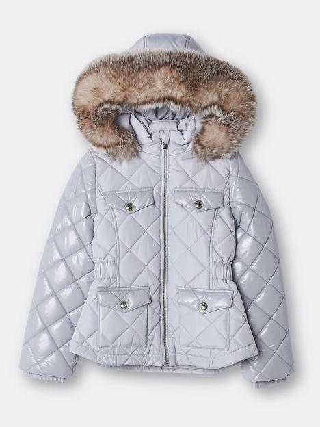 river-island-girls-high-shine-sleeve-quilted-coat-grey