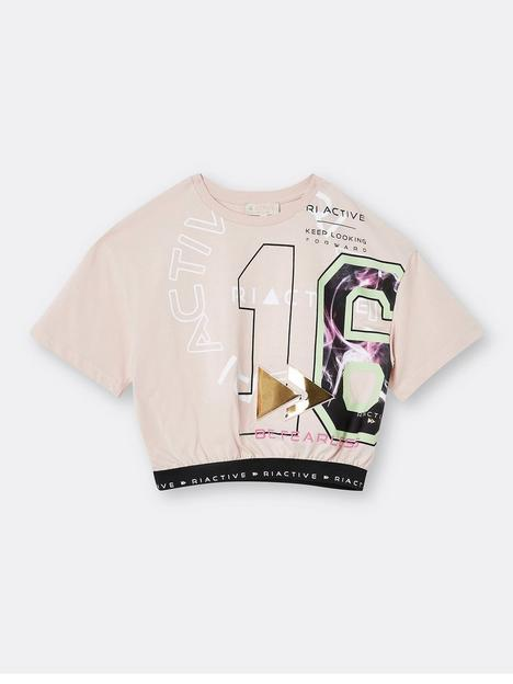 river-island-girls-active-emboss-cinced-tshirt-pink