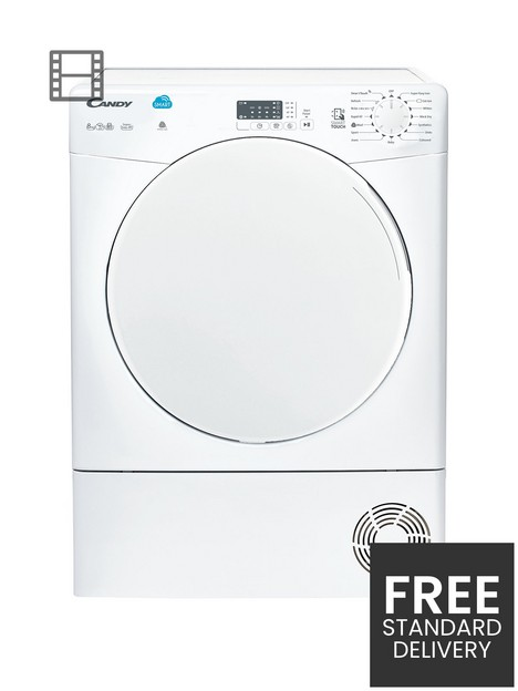 candy-csc8lf-8kg-condenser-tumble-dryer-white