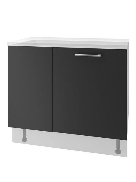 manor-interiors-linea-graphite-corner-base-unit-500mm-door-left-hand-hinged