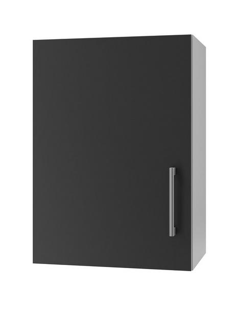 manor-interiors-linea-graphite-wall-unit-500mm-left-hand-hinged