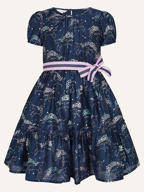 monsoon-girls-sew-foil-bow-print-dress-teal