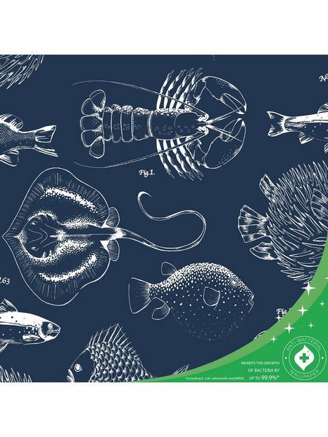 contour-into-the-deep-anti-bacterial-wallpaper