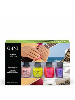 opi-opi-malibu-4-pieces-mini-pack-limited-edition