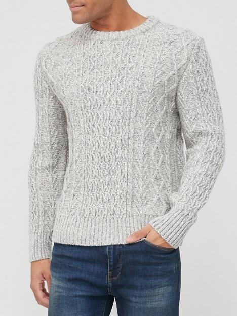 superdry-jacob-cable-crew-knit-jumper-grey