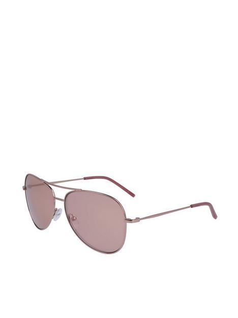 dkny-pilot-sunglasses-rose-gold