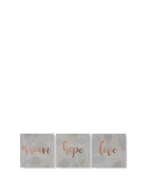 art-for-the-home-set-of-3-dream-hope-love-canvases