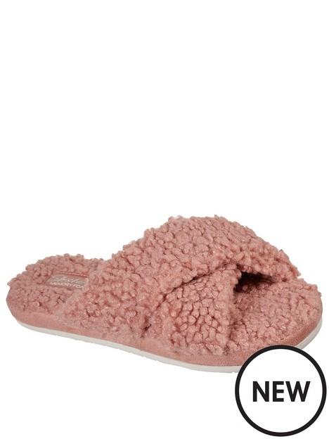 skechers-skechers-cosy-slide-sherpa-memory-foam-slippers
