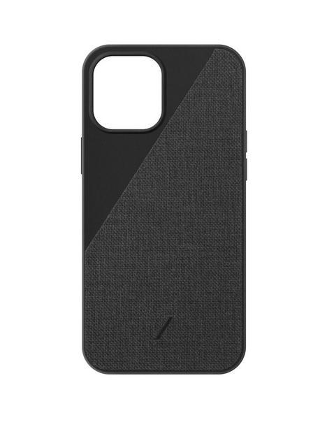 native-union-clic-canvas-hard-wearing-fabric-case-for-iphone-1212-pro-slate