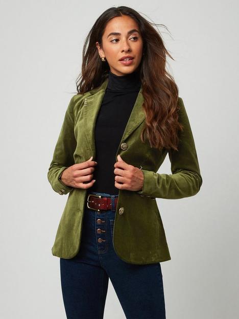 joe-browns-marvelous-blazer-green