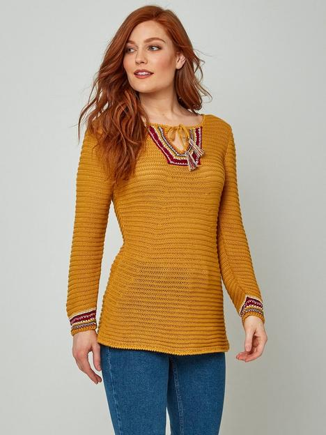 joe-browns-boho-knit--nbspmustard