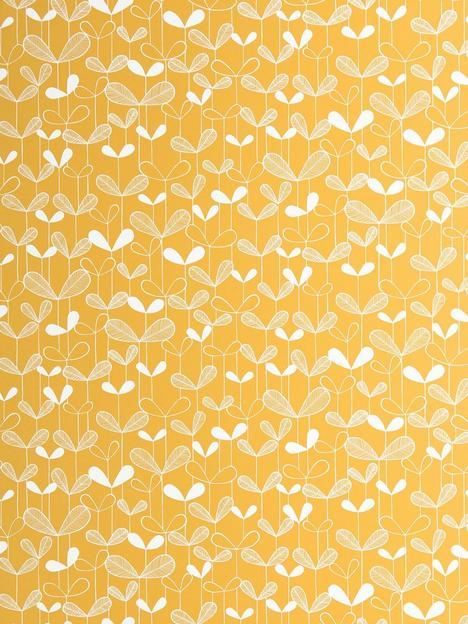 missprint-saplings-sunflower-wallpaper