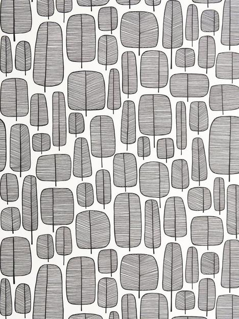 missprint-missprint-little-trees-monochrome-wallpaper