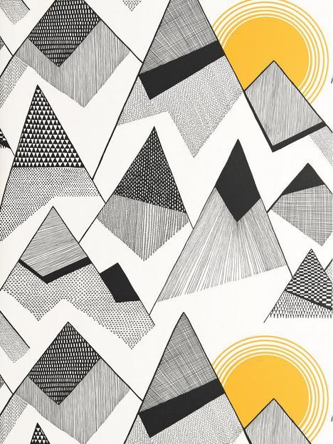 missprint-mountains-sunrise-wallpaper