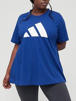 adidas-future-icons-3-bar-tee-plus-size-dark-blue