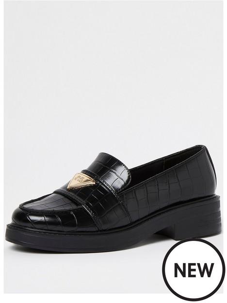 river-island-ri-branded-loafer-black