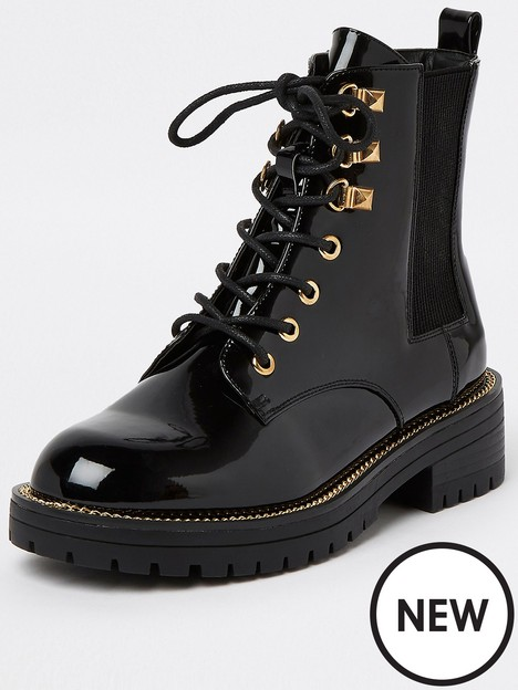 river-island-lace-up-chunky-boot-black