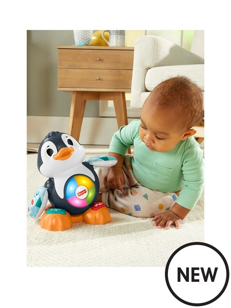 fisher-price-linkimalsnbspcool-beats-penguin-musical-toy