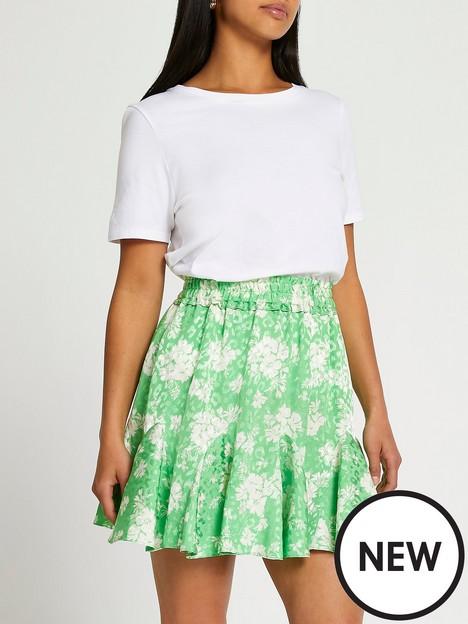 ri-petite-ri-petite-floral-flounce-mini-skirt-green