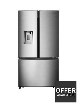 hisense-rf750n4isf-american-style-fridge-freezer-stainless-steel