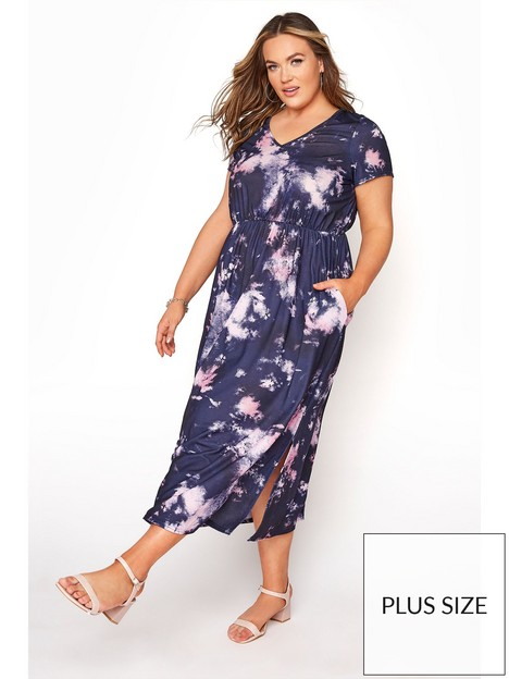 yours-yours-london-tie-dye-pocket-maxi-dress-purple