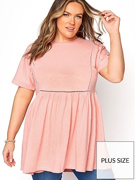 yours-yours-clothing-ladder-lace-peplum-tee-pink