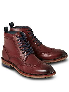 joe-browns-cornerstone-brogue-boots-burgundy