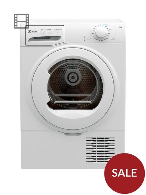 indesit-i2d71wuk-7kg-load-condenser-tumble-dryer-white