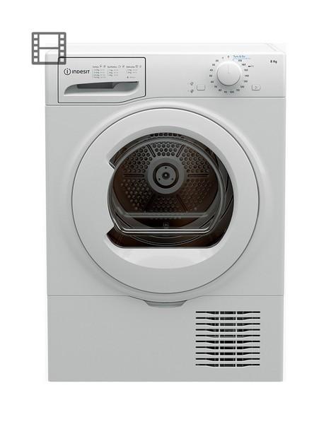 indesit-i2d81wuk-8kg-freestanding-tumble-dryer