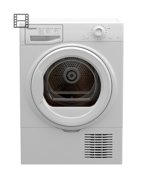 hotpoint-h2d81wuk-8kg-loadnbspfreestanding-condensernbsptumble-dryer