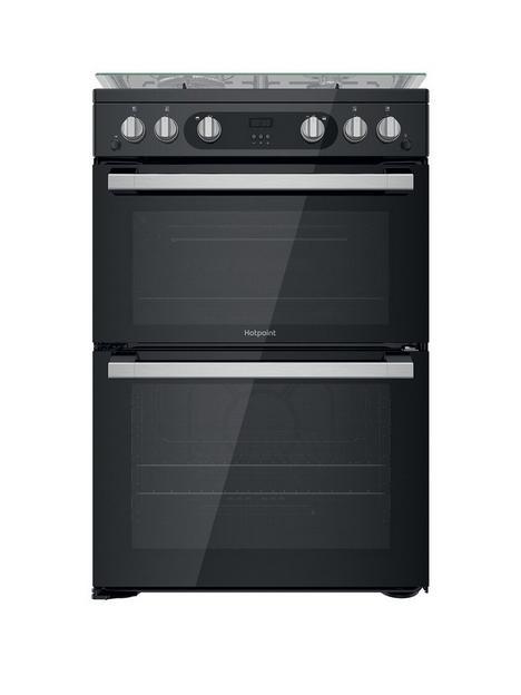hotpoint-hdm67g0c2cb-60-widenbspfreestanding-double-oven-gas-cooker