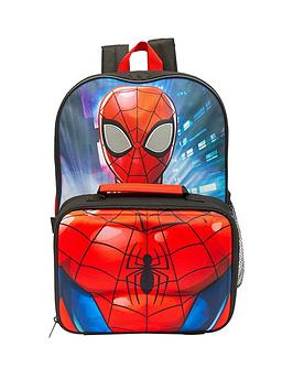 spiderman-spiderman-backpack-with-detachable-lunchbag-water-bottle