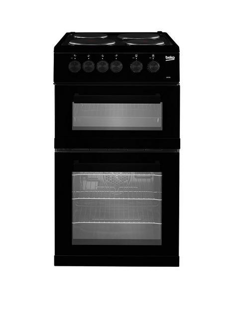 beko-kd533ak-twin-cavity-electric-cooker-black